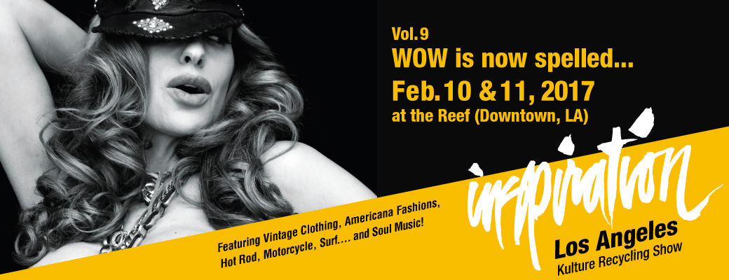 INSPIRATION Vol.09 WOW is now spelled...