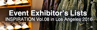 Event Exhibitors Lists in Los Angeles