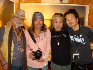 with Robert Warner, Naki, Nobu