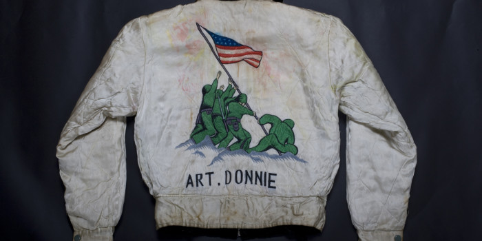 "Vintage Auction File 3: Embroidered Japan-Tour Jacket  ""Iwojima"""