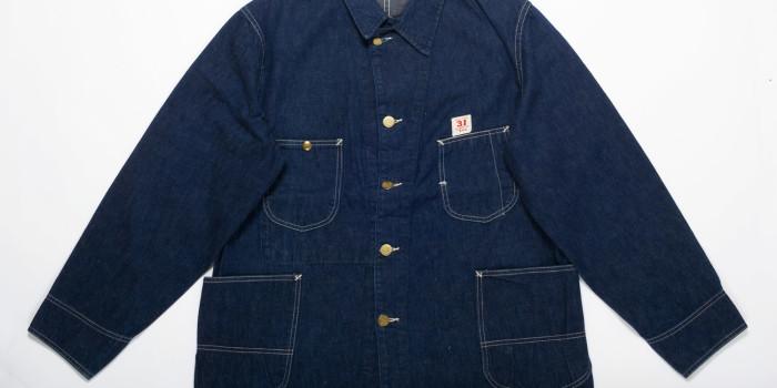 """<!--:en-->Vintage Auction File 15: Lee Worker's Denim Jacket with """"31"""" Label<!--:-->"""