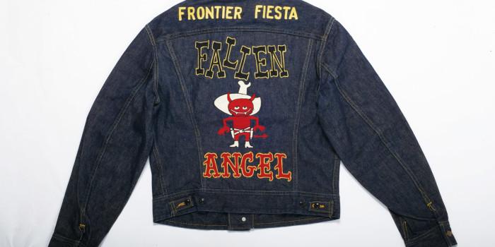 "<!--:en-->Vintage Auction File 19: Embroidered Lee 101-J Jacket ""Frontier Fiesta Fallen Angel""  <!--:-->"
