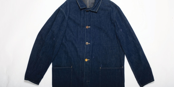 <!--:en-->Vintage Auction File 23: Two-Pockets Railroad Denim Jacket by Cantripum <!--:-->