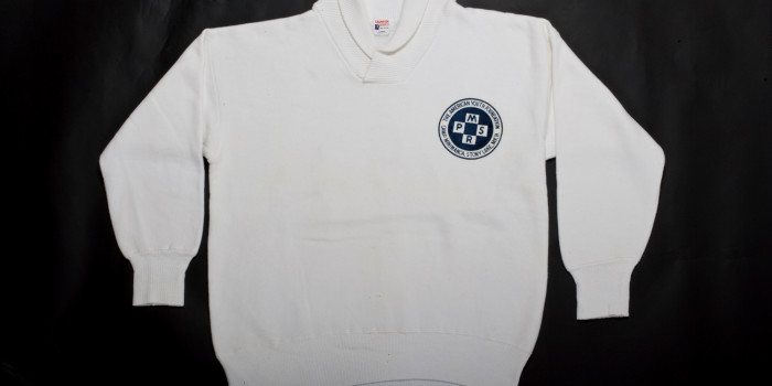 """<!--:en-->Vintage Auction File 28: Round-Collar Sweatshirt """"The American Youth Foundation"""" <!--:-->"""