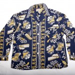 "Vintage Auction File 35: Long-Sleeve Rayon Hawaiian Shirt ""China"""