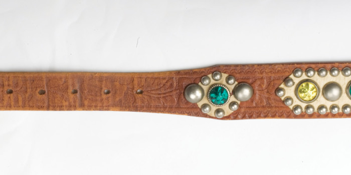 Vintage Auction File 6: Stuuded Cowboy Belt