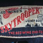 "Vintage Auction File 39: Lace-up ""Skytrooper"" Military Jump Boots by The Red Wing Shoe Co."