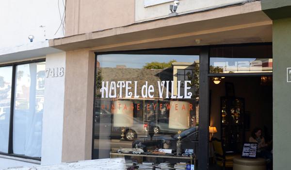 Hotel De Ville Vintage Eyewear