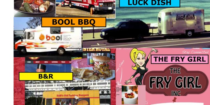 Food Trucks!!: 4 delicious food trucks will appear on 2/8-9!!