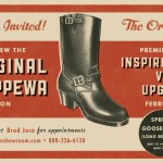 "Invitation 2: Chippewa Boots will show you new their ""premium Horween Leather collection"" on 2/8!!"