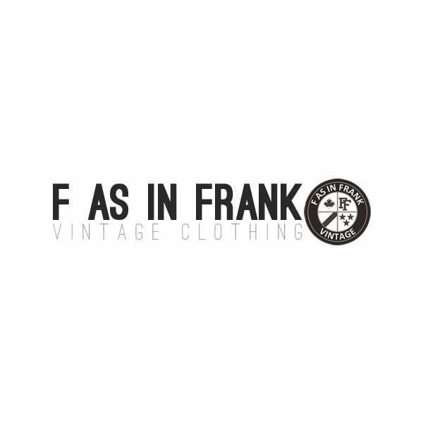 F as in Frank Vintage