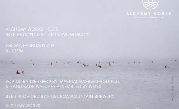 After PREVIEW PARTY at Alchemy Works on 2/7
