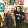Werner (Retro City Fashions) displayed lots of beautiful 1940-60s Aloha shirts!!