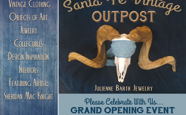 """Santa Fe Vintage Outpost"" opened in Santa Fe, NM!"
