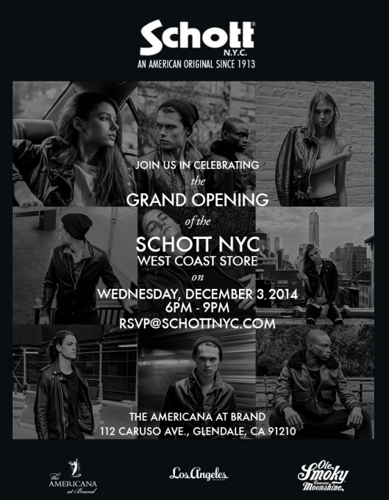 Schott NYC LA Opening Party