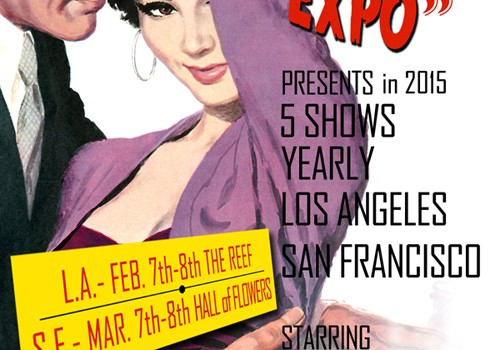 Our ticket buyers will get $5 off for Vintage Fashion Expo. on 2/7