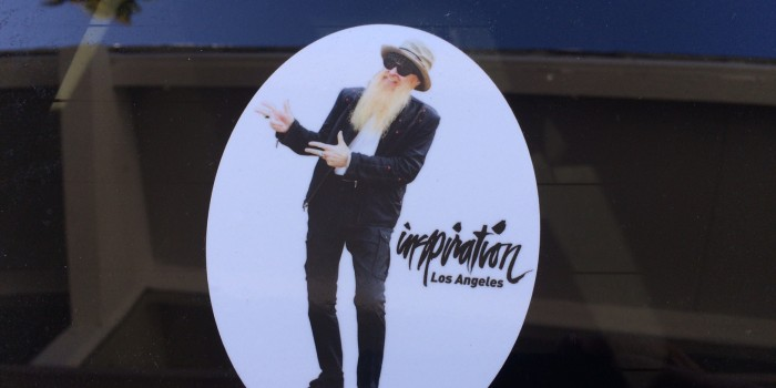 Billy Gibbons Sticker!!
