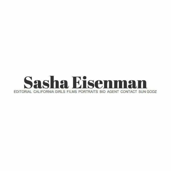Sungodz California by Sasha Eisenman