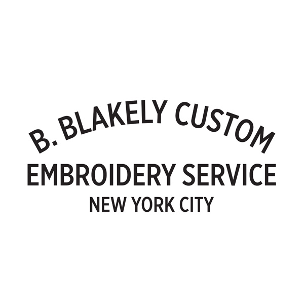 B. Blakely Custom Embroidery Service