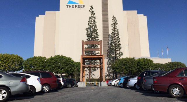 Last Month I checked inside the Reef to see how nice their new renovation jobs were!