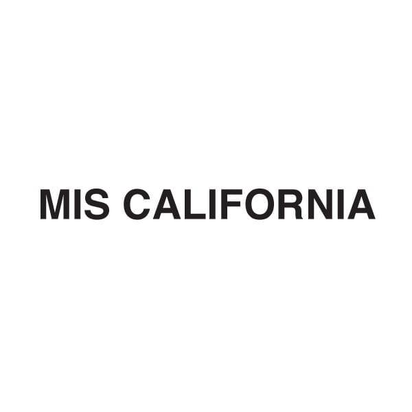 MIS CALIFORNIA