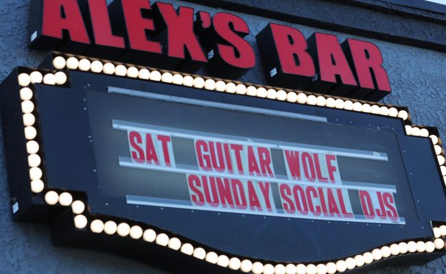 Tonight (6/17) Guitar Wolf play at Alex's Bar in Long Beach CA!