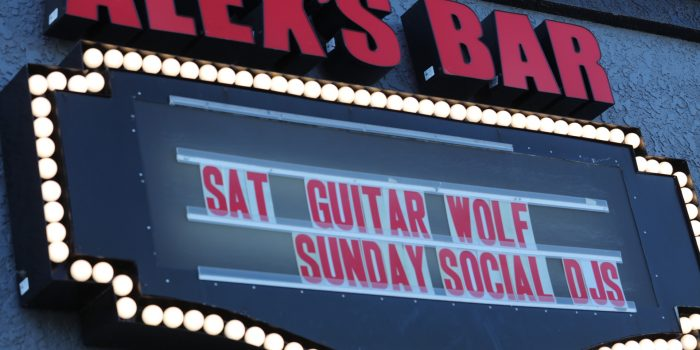 Tonight (6/17) Guitar Wolf play at Alex's Bar in Long Beach CA!
