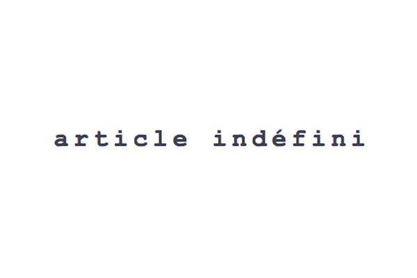 Article Indefini