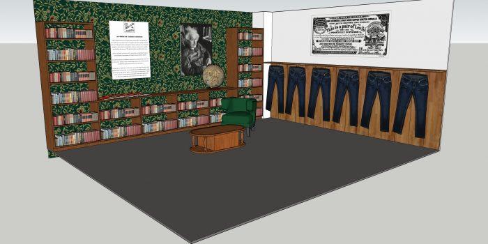 LVC will display an ORIGINAL Einstein jacket on 2/10 (Sat) 2-5pm only! WOW, Museum piece!!!