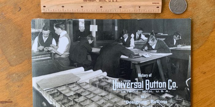 Free Giveaway 300 Wooden Rulers & 800 mini-catalog by Universal Button Co. (YKK)