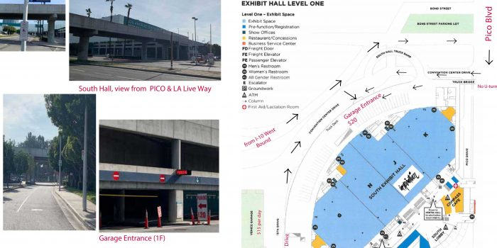 "Parking Guide: located behinde the South Hall building!! Very ""hard to find""….?!"