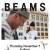 Beams will have a POP UP party at Nordstrom Men's Store NYC tomorrow (11/7)!