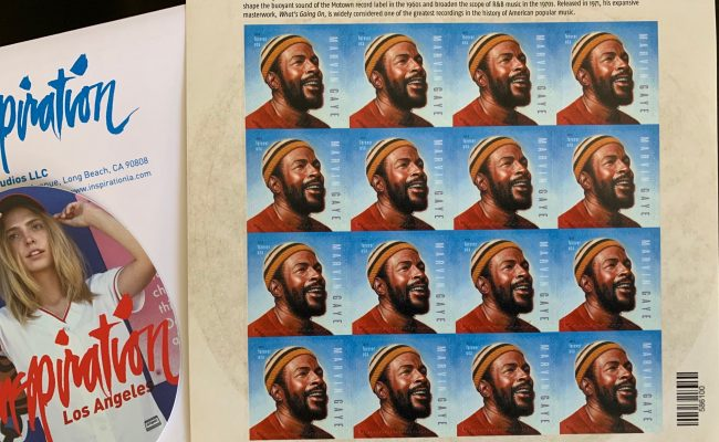 Marvin Gaye Stamp!!
