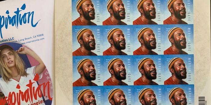 Marvin Gaye Stamp!!