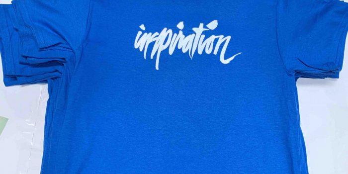 Our staff t-shirts for the 2020 show is in Dodgers BLUE!