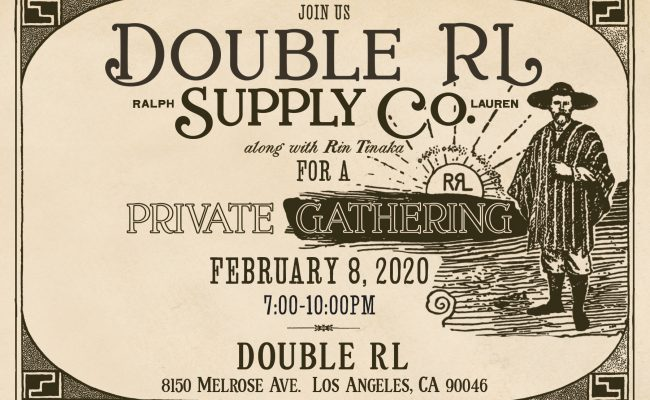 AFTER party on 2/8 7-10pm at Double RL!!