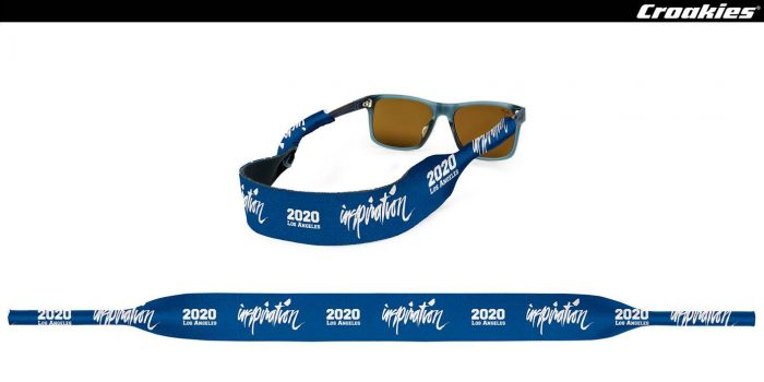 "Croakies is preparing 200 limited giveaway sunglass-strap for ""Inspiration"" show!"